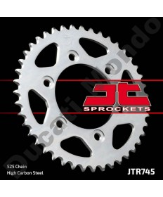 JT rear Sprocket 43 tooth Ducati ST2 ST3 ST4 Monster 1000 Sport Classic JTR745.43 replacement service spare part EAN number: 824225310078