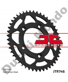 JT Sprockets 46 tooth steel rear sprocket Ducati 899 959 Panigale Scrambler 400 800 Monster 821 replacement spare parts EAN number: 824225313505