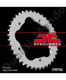 JT Sprockets 42 tooth steel rear sprocket for Ducati 848 916 996 998 Monster 796 1100 Hypermotard 1100 Multistrada 525 pitch JTR752.42
