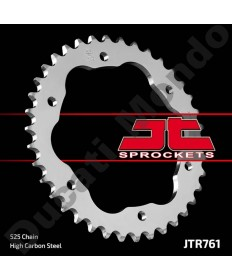 JT Sprockets 38 tooth steel rear sprocket for Ducati, 525 pitch 1098 1198 1199 1299 Panigale Monster 1200 Streetfighter Diavel JTR761.38