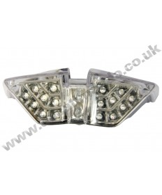 LED rear stop tail light with integrated indicators for late MV Agusta F4 10-15 LEDM003