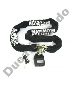 Sold Secure Mammoth Lock & 1.8m Chain (12mm)