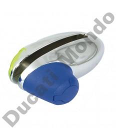 Mammoth Security Grenade Disc lock Chrome