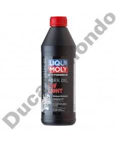Fork Oil Liqui Moly 5W Light 1 Litre Fully Synthetic Shock Absorber LQM2716 replacement spare service fluid EAN number: 4100420027161