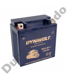 Dynavolt MGCB9B Gel Nano MG Series Motorcycle Battery for Aprilia & Cagiva models