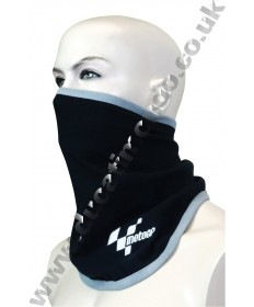 MotoGP bandit face mask neck tube in black with embroidered logo MGPBDTBK