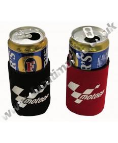 MotoGP Neoprene Beer/Drinks can holder/cooler - 2 pack