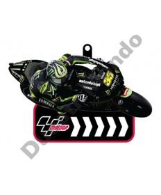 Brand NEW MotoGP #35 Cal Crutchlow  Yamaha Tech 3 Monster Energy rubber key ring