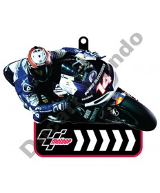 Brand NEW MotoGP #14 Randy de Puniet Power Electronics Aspar rubber key ring
