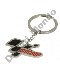 MotoGP Logo premium metal keyring, Official licenced product