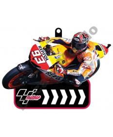 Brand NEW MotoGP #93 Marc Marquez Factory Repsol Honda rubber key ring