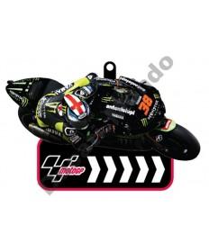 Brand NEW MotoGP #38 Bradley Smith Tech 3 Monster Energy Yamaha rubber key ring.