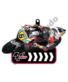 Brand NEW MotoGP #6 Stefan Bradl LCR Honda Team rubber key ring