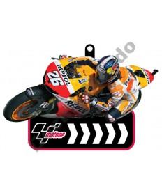 Brand NEW MotoGP #26 Dani Pedrosa Repsol Honda Team rubber key ring