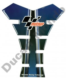 MotoGP universal fuel tank pad in blue/black