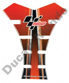 MotoGP universal fuel tank pad in red/black