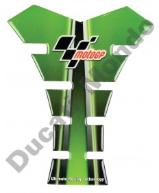MotoGP universal fuel tank pad in green/black
