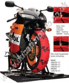 MotoGP standard tyre warmers (Superbike size)