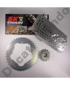 Ducati 748 Chain & Sprocket kit with EK SRO series O ring chain 94-04