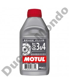 MOTUL motorcycle hydraulic clutch & brake fluid DOT 3 & 4 500ml 102718 service fluid EAN number: 3374650237312
