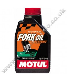 Motul Expert Semi-synthetic Fork Oil Medium 10W - 1 Litre