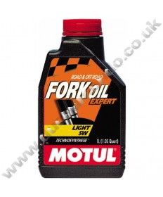 Motul Expert Semi-synthetic Fork Oil Light 5W - 1 Litre
