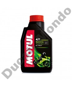 Motul 5000 4T Semi-synthetic Engine Oil 10W-40 - 1 Litre