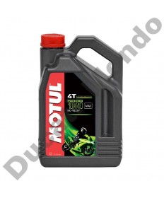 Motul 5000 4T Semi-synthetic Engine Oil 10W-40 - 4 Litre