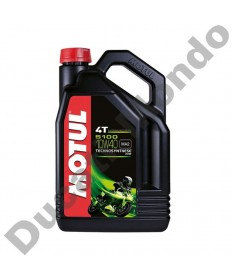 Motul 5100 4T Techno-synthetic ester technology oil 10W-40 - 4 Litre