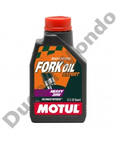 Fork Oil Motul Expert Semi synthetic Heavy 20W - 1 Litre 105928 replacement spare service fluid EAN number: 3374650008400