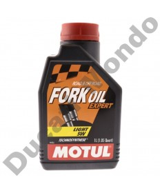 Fork Oil Motul Expert Semi synthetic Light 5W - 1 Litre 105929 replacement spare service fluid EAN number: 3374650008431