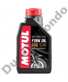 Fork Oil Motul Factory Line ester based synthetic Medium 10W - 1 Litre 105925 replacement spare service fluid EAN number: 3374650008349