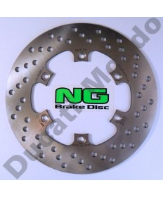 NG rear brake disc for Cagiva Mito 125 Sports Mk1 Mk2 Evo 1 & 2 SP525 Planet Raptor Supercity River 600 NG146 replacement spare part Equivalent to Cagiva OEM part number 800062615 MD638 EAN 8435502401499