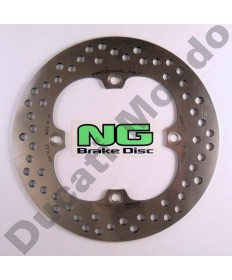 NG rear brake disc for Ducati 748 851 888 916 996 998 MH900e all years & models NG718 replacement spare part Equivalent to Ducati OEM part number 49240111B or 08489924 as EBC MD632 EAN 8435502405008