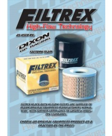 Filtrex oil filter for Ducati