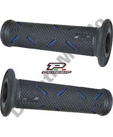 Progrip Gel Touch Dual Compound GP Grips Used By Althea Ducati Black & Blue PG717Blue