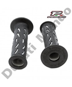 Progrip Gel Touch Dual Compound Handle Bar Grips As Used By Ducati Corse PG724 Grey & Black