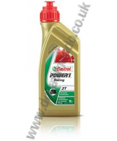 Castrol Power 1 Racing Fully Synthetic 2 Stroke Engine Oil 1L