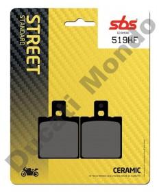 SBS Ceramic Rear brake pads Cagiva Mito Raptor Planet 125 519LF