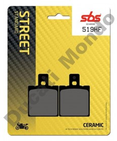 SBS Street Ceramic rear brake pads for Aprilia RS125 RS250 519HF