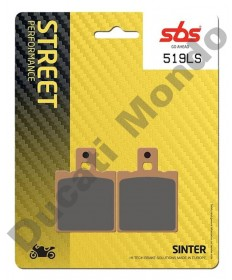 SBS Low Sinter rear brake pads for Aprilia RS125 RS250 519LS