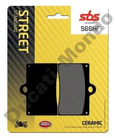 SBS Ceramic Front brake pads Cagiva Mito Planet Raptor 125 566HF