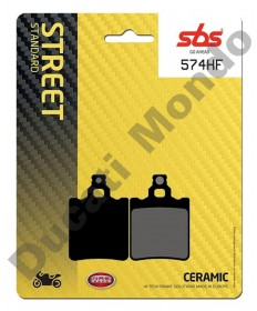SBS Ceramic Rear brake pads for Aprilia RS50 96-05 RX  MX 574LF