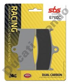 SBS Dual Carbon Front brake pads MV F4 & Brutale 750 910 676DC
