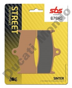 SBS Sintered Front brake pads MV F4 & Brutale 750 910 676HS