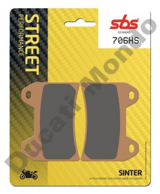 SBS Sintered Front brake pads for Ducati Twin pin caliper 706HS