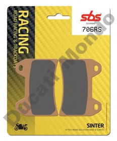 SBS Race Sinter Front brake pads Ducati Twin pin caliper 706RS