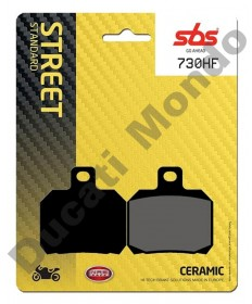 SBS 730 HF Street Excel Ceramic Rear brake pads
