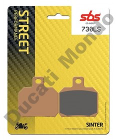 SBS Low Sinter Rear brake pads Cagiva Raptor 650 & 1000 V-Raptor Xtra Raptor 730LS