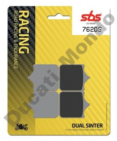 SBS Dual Sinter Front brake pads for RSV1000 4 pad caliper 762DS